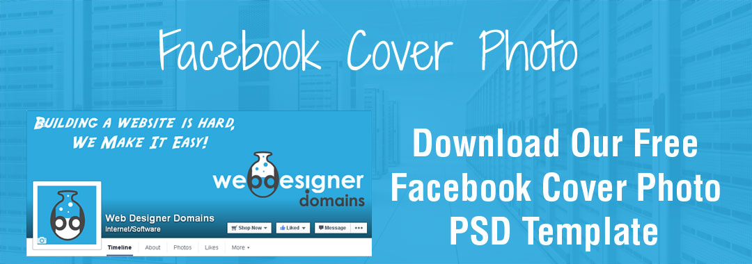Facebook PSD Template