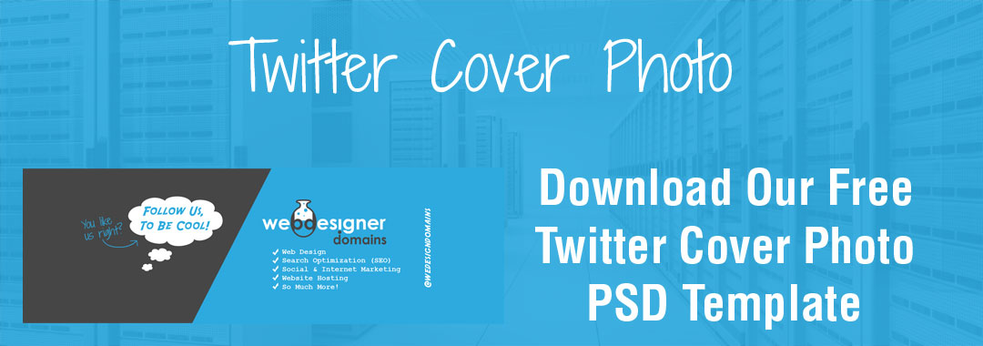 Twitter Cover Photo PSD Template 2015
