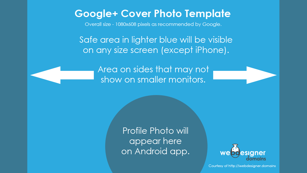 Google+ Cover Photo PSD Template